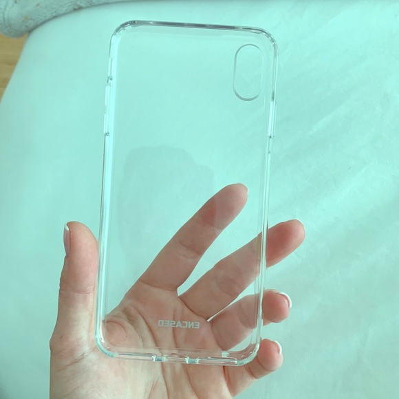 online store b096a 8330e Encased clear iPhone XS Max case